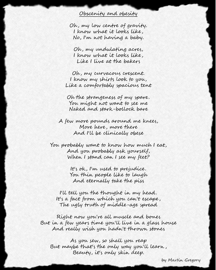 poem onapagedef